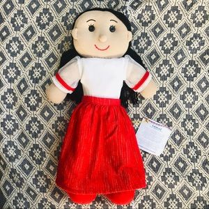 PHILIPPINE TRADITIONAL DOLL GIRL BABY PLUSH TOY